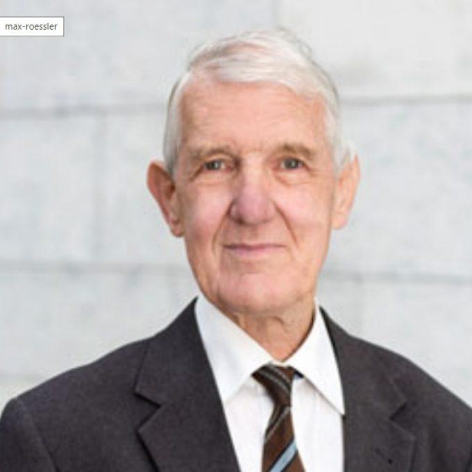 Portrait Dr. Max Rössler